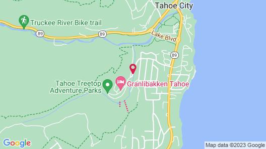 Granlibakken Tahoe Map