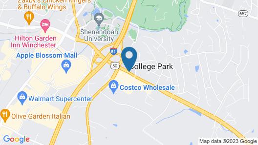 Red Roof Inn Winchester, VA Map