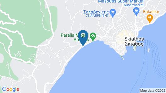 Aegean Suites Hotel Map