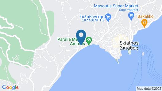 Villas Ftelia Map