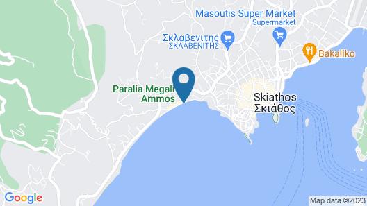 Aria Hotel Skiathos Map