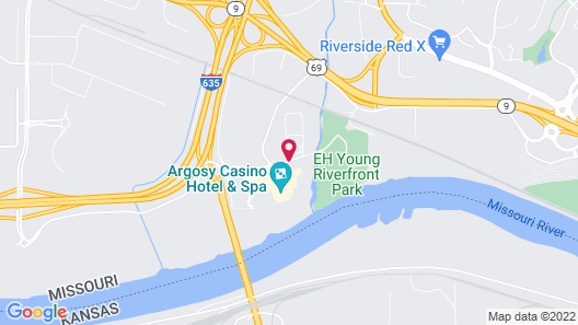 Argosy Casino Hotel And Spa Map