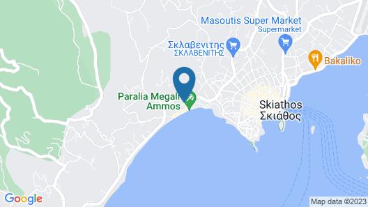 Irida Aegean View Map