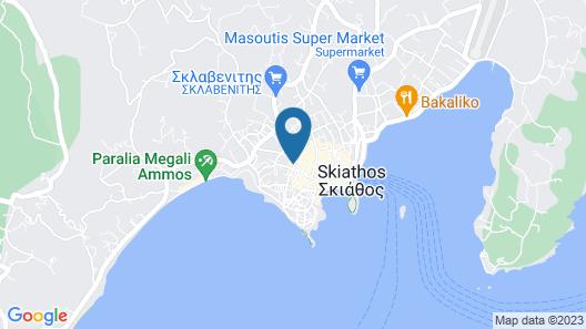 Bourtzi Hotel Map
