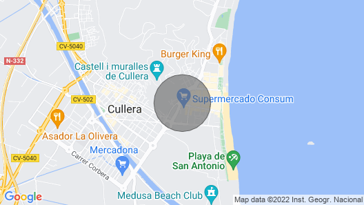 Very Central Apartment Near the Beach Vt-46565-v Map