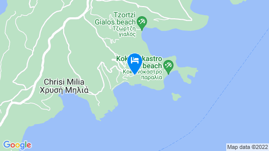 ALONISSOS BEACH BUNGALOWS & SUITES HOTEL Map