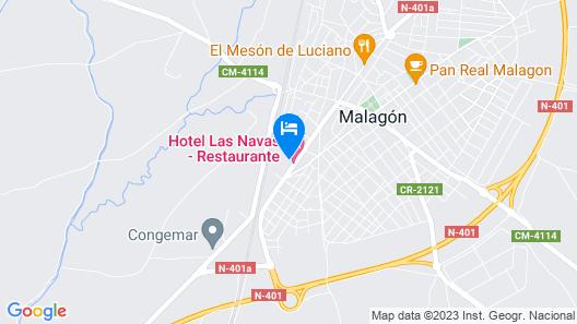 Hotel Las Navas Map