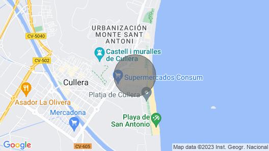 Beautiful apartment 100m from Cullera beach (Valencia) Map