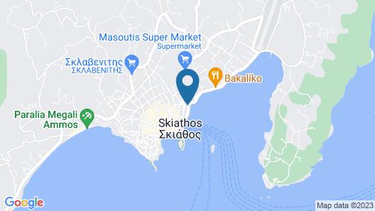 Hotel Akti Map