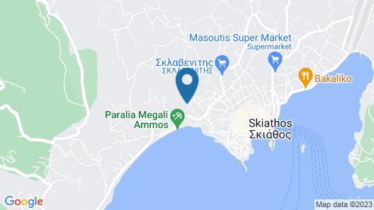 Hotel Rene Map