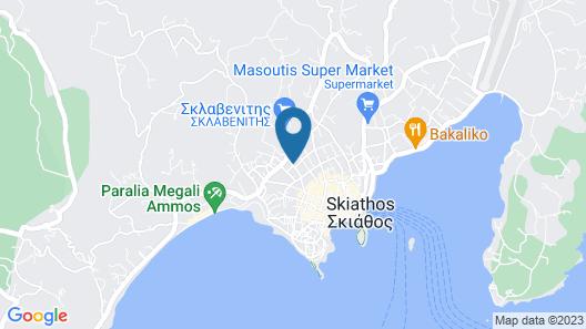 Aretousa Hotel Map