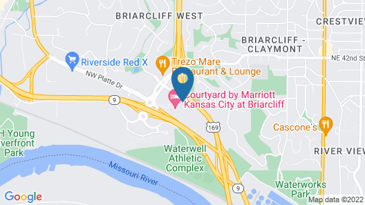TownePlace Suites by Marriott Kansas City at Briarcliff Map