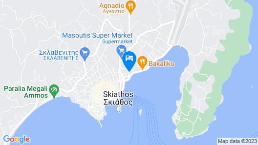 Alkyon Hotel Map