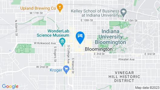Graduate Bloomington Map