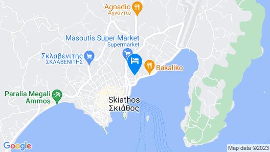 Skiathos Somnia Map