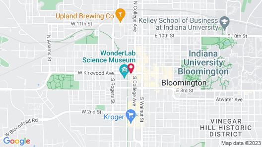 Hyatt Place Bloomington Map
