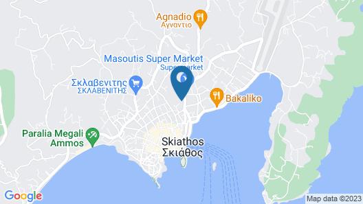 Skiathos Luxury Living Map
