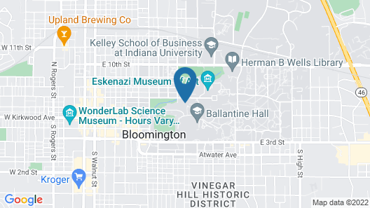 Biddle Hotel and Conference Center Map