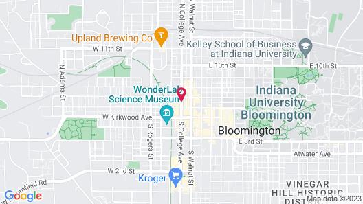 Hilton Garden Inn Bloomington Map