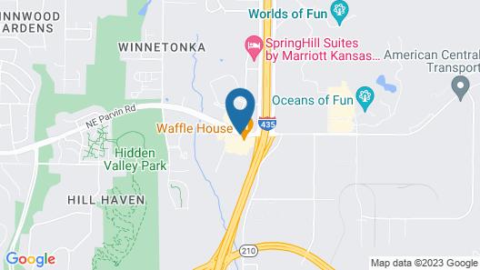 SureStay Plus Hotel by Best Western Kansas City Northeast Map