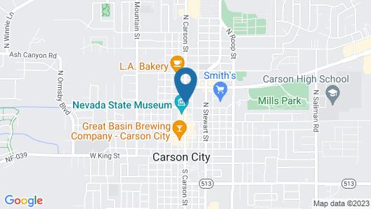 Carson Tahoe Hotel Map