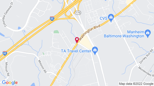La Quinta Inn & Suites by Wyndham Columbia / Fort Meade Map