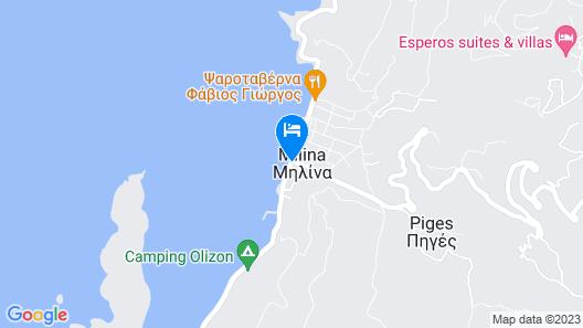 Hotel Gorgona Map