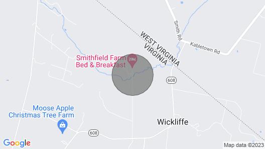Smithfield Farm B&B Map