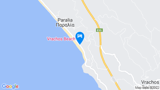 Vrachos Holidays Hotel Map