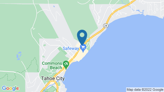 Basecamp Tahoe City Map