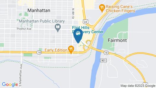 Hilton Garden Inn Manhattan Map
