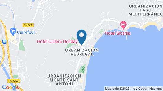 Cullera Holiday Hotel Map