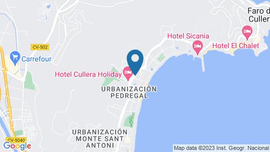 Hotel SantaMarta Map