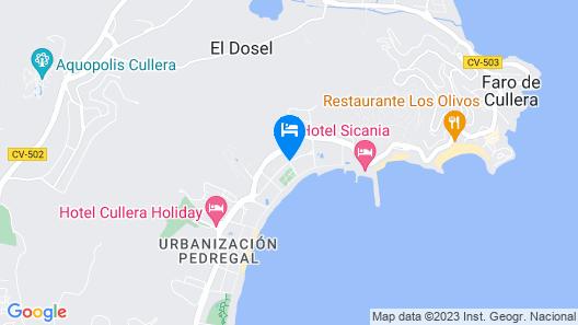 Magnifico apartamento en la mejor playa de Cullera Map