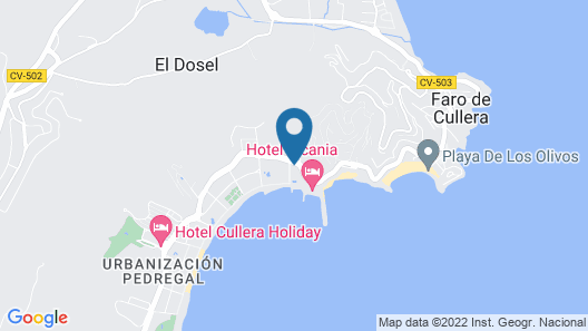 Palm Tree Cullera Map