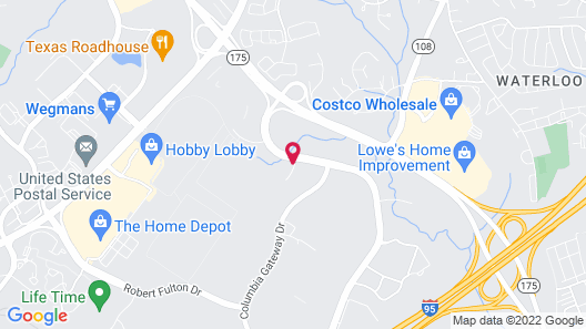Extended Stay America Columbia - Gateway Drive Map