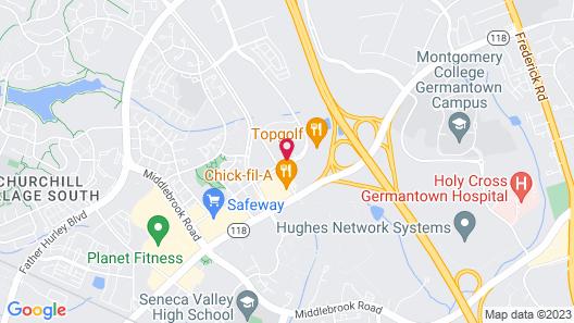 Fairfield Inn & Suites Germantown Gaithersburg Map