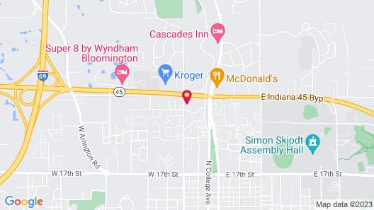 Holiday Inn Bloomington, an IHG Hotel Map