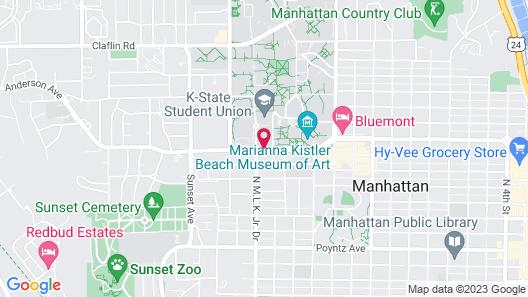Holiday Inn Manhattan at the Campus Map