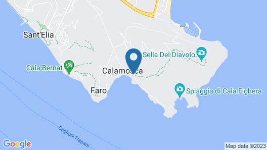 Hotel Ristorante Calamosca Map