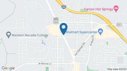 Days Inn by Wyndham Carson City Map