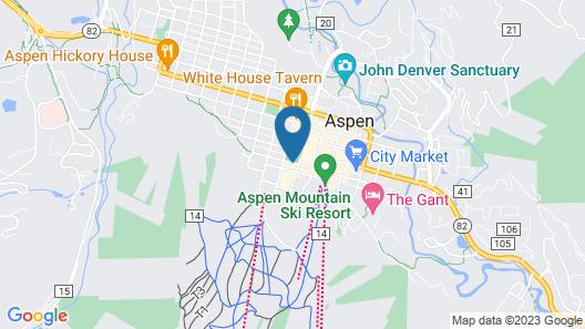 Mountain Chalet Aspen Map