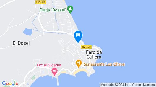 Dosel beach Apartment Map
