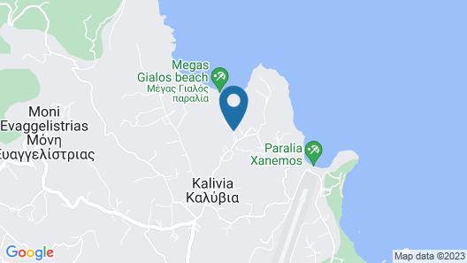 Aegean Sea Villa Map