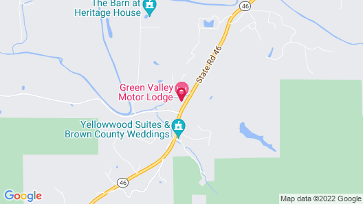 Green Valley Lodge Map
