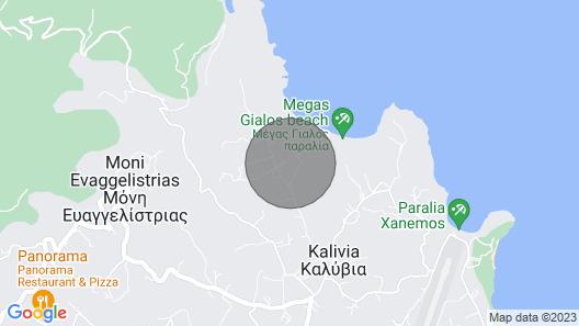 Captain's Villa Map