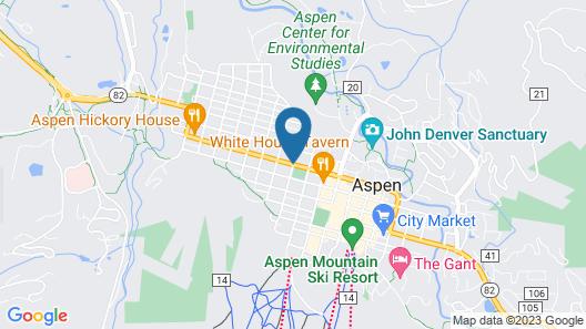 Hotel Aspen Map