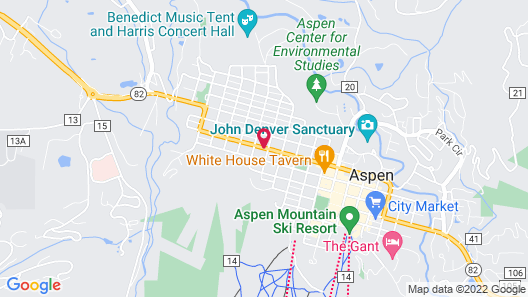 Aspen Mountain Lodge Map