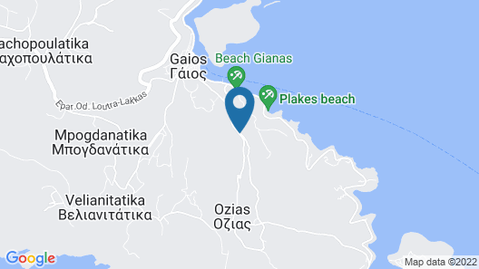 Paxoi Resort - Adults Only Map