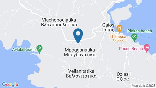 Adamantia Hotel Map